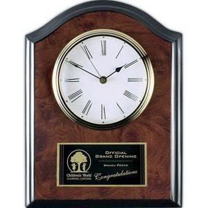 customizable clock plaque for retirement