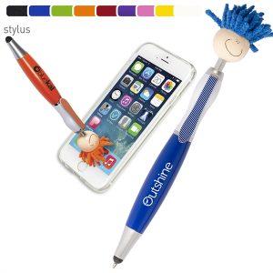 custom pens with mop tops