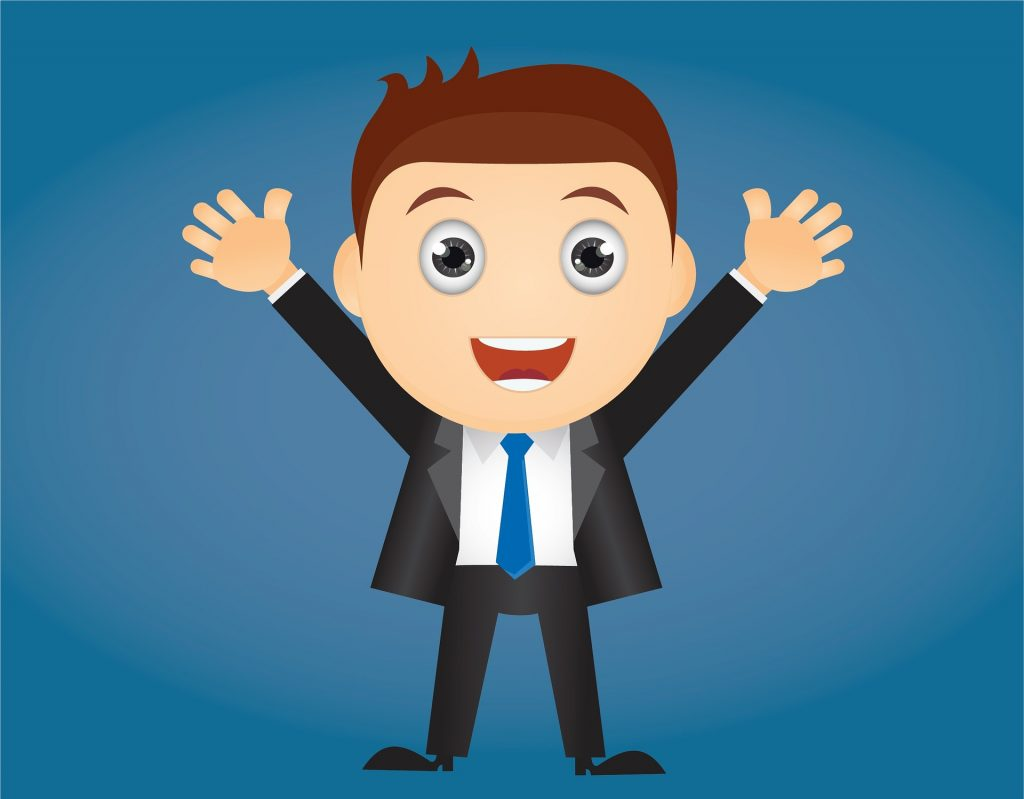 clip art of smiling worker