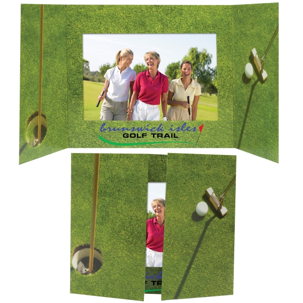 customizable golf photo mount