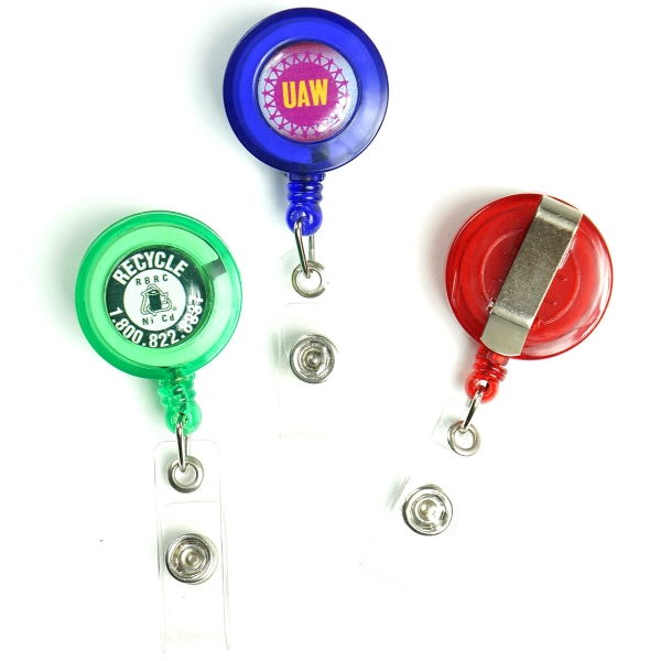 colorful custom badge holders