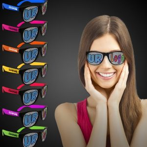 billboard sunglasses in various colors