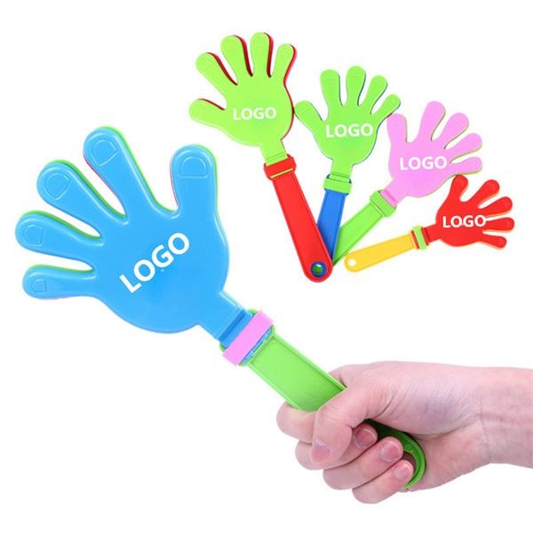 colorful custom hand clappers